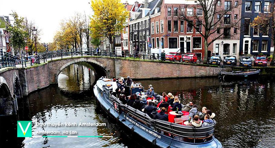 Du thuyen tren kenh Amsterdam 2