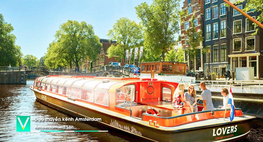 Du thuyen tren kenh Amsterdam 3