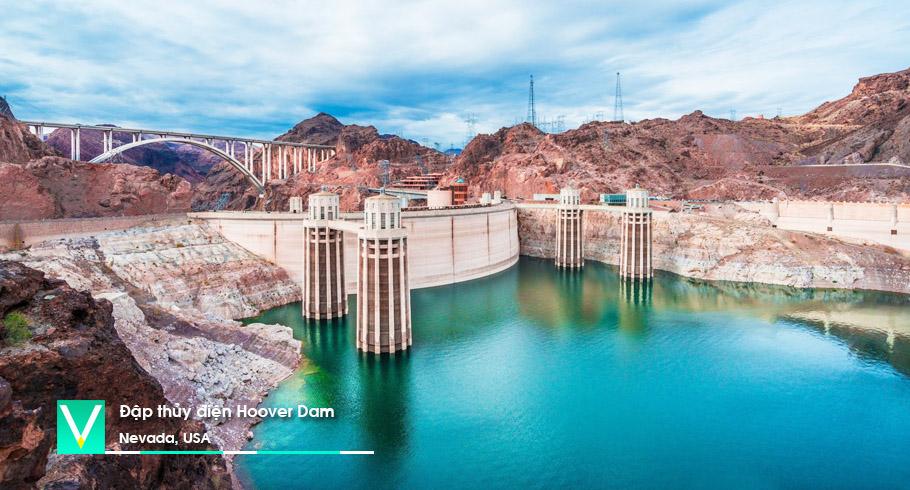 USA – Dap thu dien Hoover Dam 2